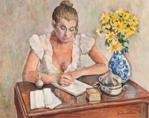 Flora L. Thornton's At the Writing Desk