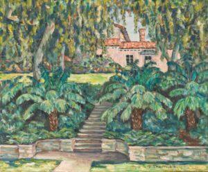 Flora L. Thornton's Backyard at Carolwood