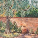Flora L. Thornton's Olive Tree and Urn
