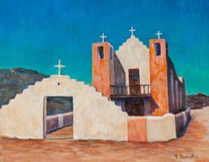 Flora L. Thornton's Santa Fe Church