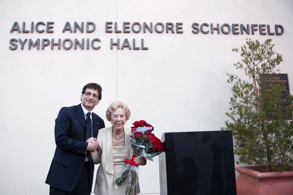Dean Cutietta with Alice Schoenfeld