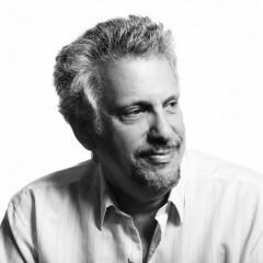 black and white portrait of Schyman