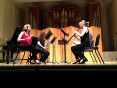 Clare Glackin at the Oregon Bach Festival