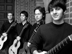 Drawing inspiration from the string quartet tradition, the Helios Guitar Quartet used a variety of differently pitched instruments to extend the range of the guitar ensemble, which involved fashioning two uniquely capable guitars for their performance.