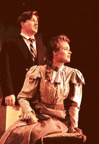 "A still from the 1999 production of ""Where Angels Fear to Tread,"" featuring Taylor Armstrong and Anne Jennifer Nash. (Photo: Jesse Hellman)"