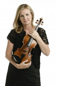 LACO Concertmaster and USC Thornton faculty member Margaret Batjer.
