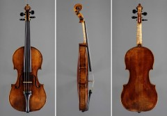"""Beechback"" Strad  c. 1720 (Photo: Peter Bear)"