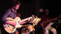 Colin Cook, USC Thornton student playing with Abraham Laboriel and Ndugu Chancler