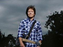 Rock singer John Fogerty wrote some of the biggest hits for his band, Creedence Clearwater Revival.