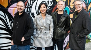 Kronos Quartet, featuring USC Thornton alumna Sunny Yang, will perform on campus this Thursday.