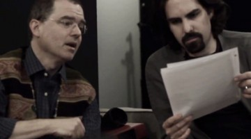 USC Thornton faculty Adam Knight Gilbert (left) and alumnus Bear McCreary (right).