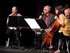 ARTL program director Ken Foster interviewed celebrated strings ensemble Kronos Quartet as a part of the symposium's programming.