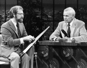 Weiss' first appearance on the Tonight Show was in 1983, and he was asked back again in 1985.