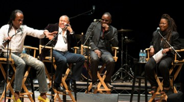 R&B group Earth, Wind & Fire was one of Pop Forum's many guests this school year.