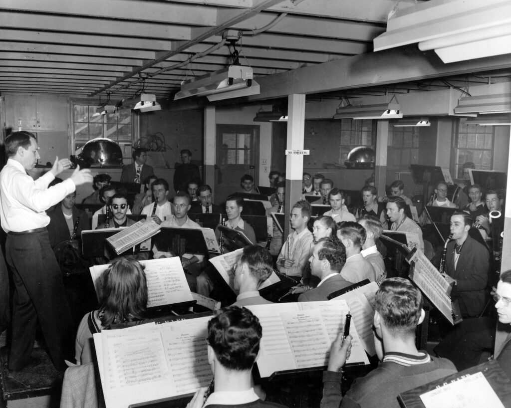 Concert_Band_Clarence_Sawhill_1949
