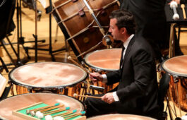 USC Thornton Winds and Percussion faculty Josephe Pereira also serves as Principal Timpanist for the Los Angeles Philharmonic.