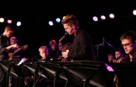 Jazz Studies masters student Alex Hahn. (Photo/Danny Wirick)