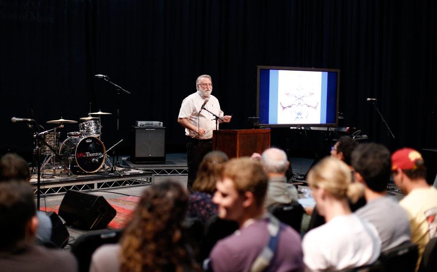 Dr. Robert Shannon, USC Otolaryngology, USC Biomedical Engineering, USC Neuroscience. (Photo/Danny Wirick)