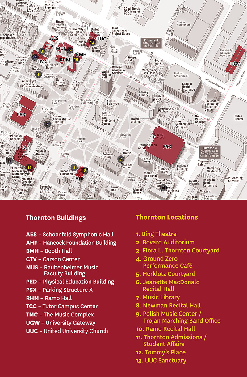 Visit Thornton | USC Thornton School of Music