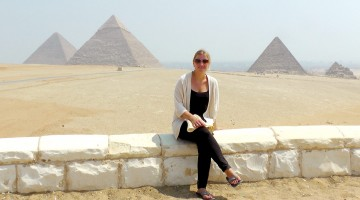 Eva Schaumkell in Cairo