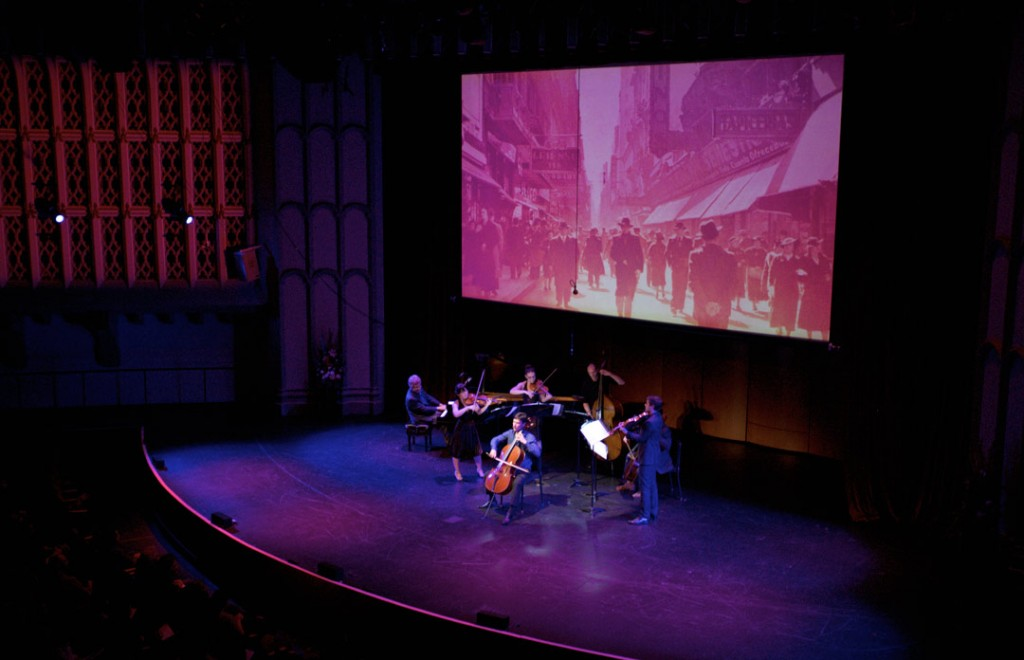 Internationally known cellist and UCLA Professor of Cello, Antonio Lysy, presented Te Amo Argentina, a performance of music, dance and visuals in the Opening Gala Concert of the Piatigorsky International Cello Festival in USC's Bovard Auditorium. (Photo by Dario Griffin)