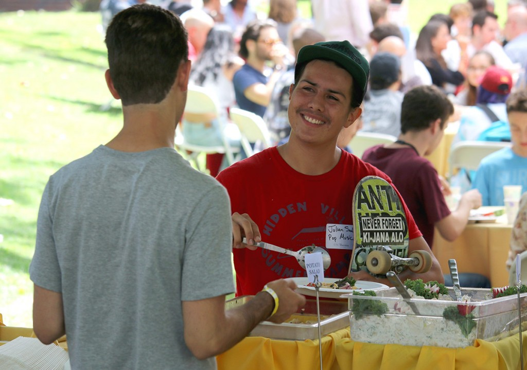 New Student Luncheon - 2016