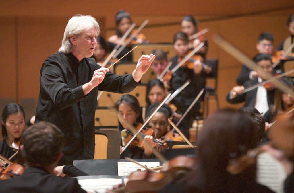 Maestro Carl St.Clair.