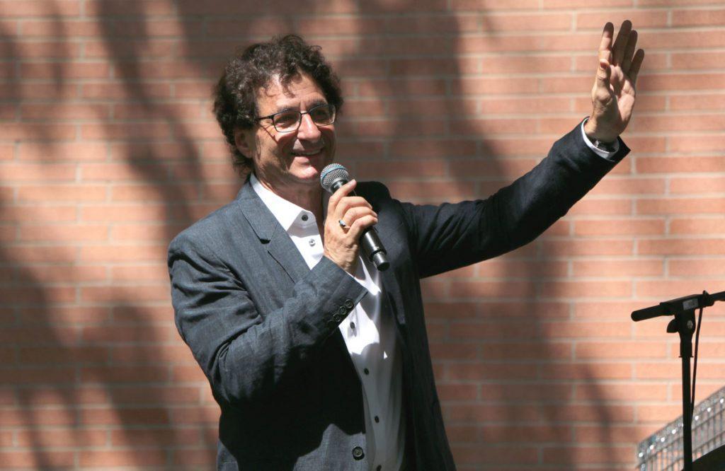 Slideshow: USC Thornton Dean Robert Cutietta addresses the crowd