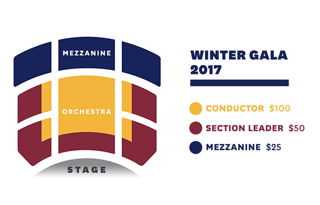 Winter Gala 2017 Seat Map
