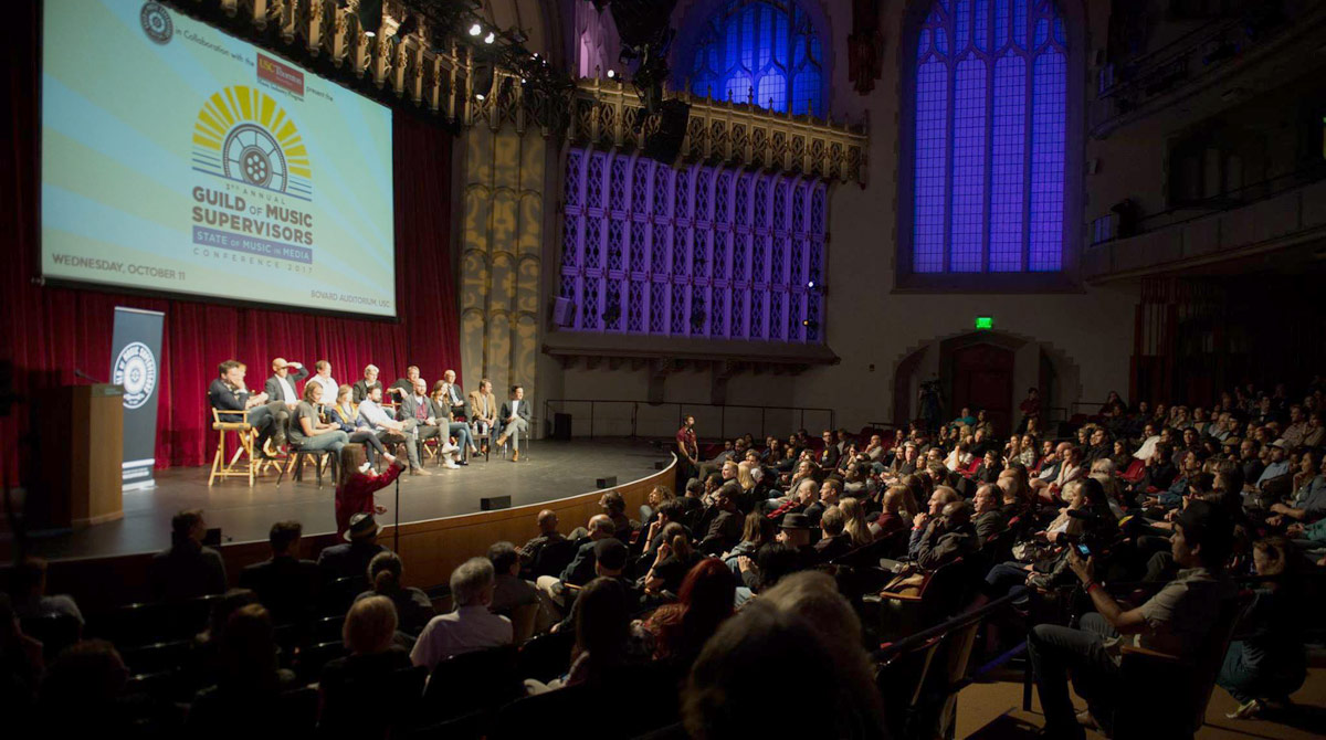 Guild of Music Supervisors conference held at USC | USC