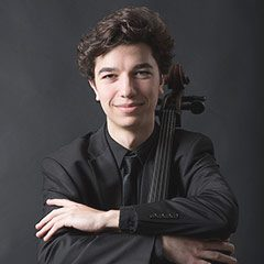 Gabriel Martins with cello