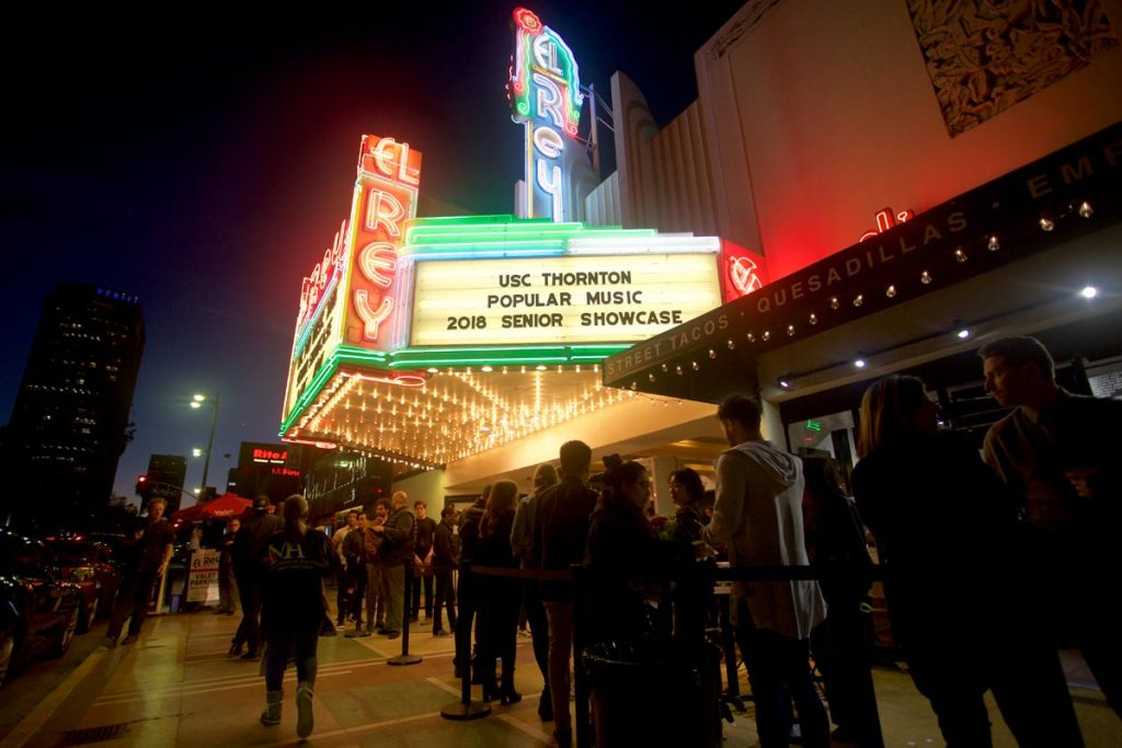Popular Music Senior Showcase at the El Rey Theatre - March 26, 2018