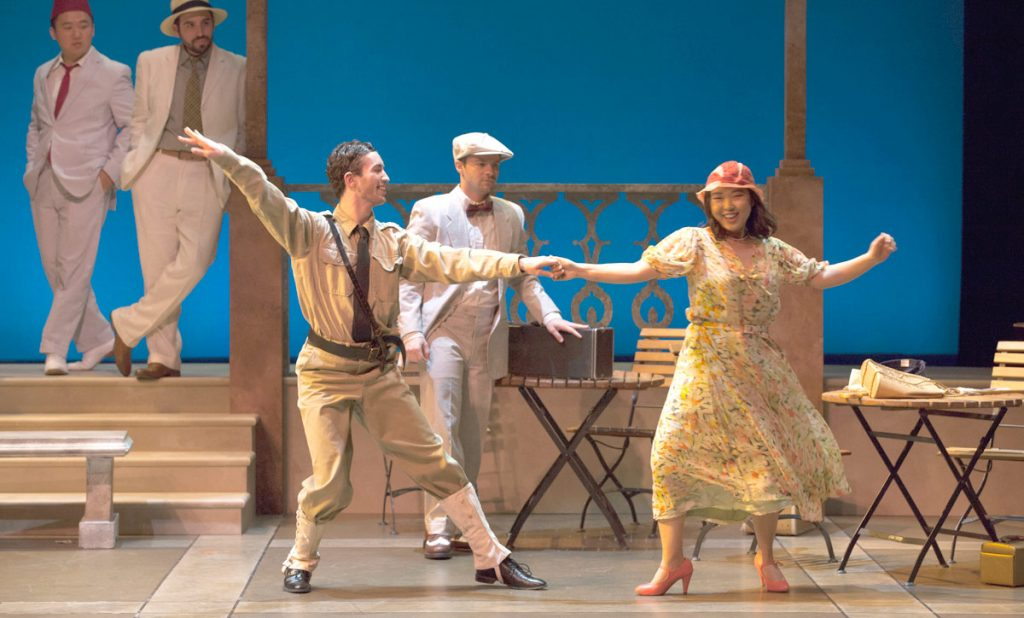 "The USC Thornton Opera program's new production of ""Postcard from Morocco"" opened this week."