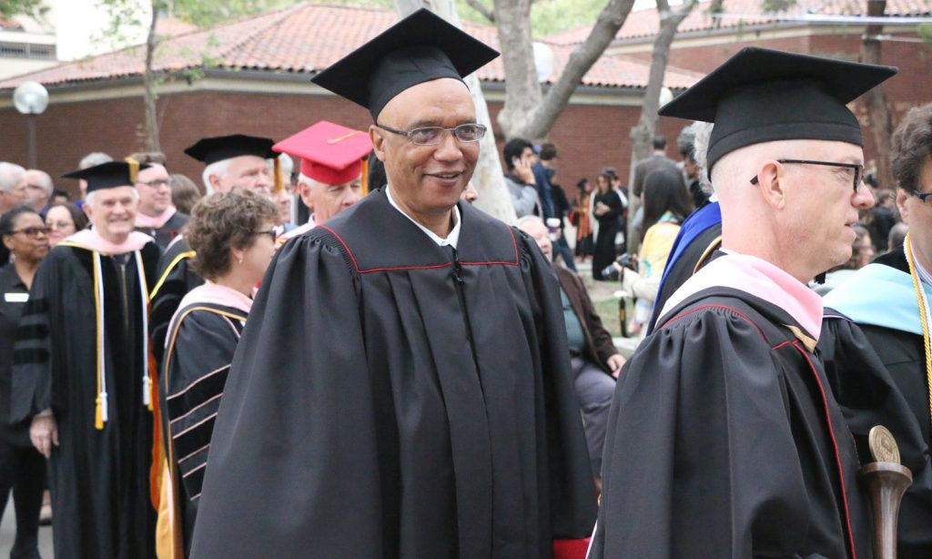 Composer and Outstanding Alumnus, Billy Childs ('79).