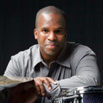 Will Kennedy pictured with drumset