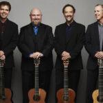 Photo of members of Los Angeles Guitar Quartet
