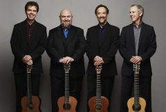 Photo of members of Los Angeles Guitar Quartet