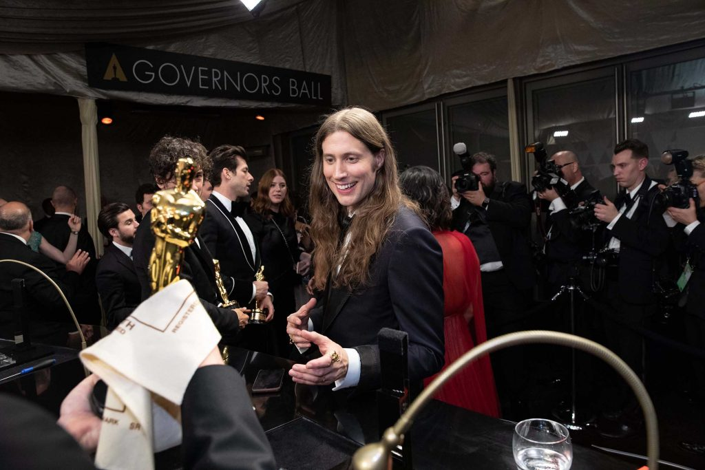 Oscar® winner Ludwig Goransson at the Governors Ball following the live ABC Telecast of The 91st Oscars® at the Dolby® Theatre in Hollywood, CA on Sunday, February 24, 2019. (Photo by Troy Harvey  / ©A.M.P.A.S.)