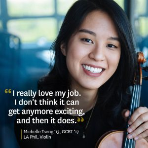 Michelle Tseng quote on her job at the LA Phil