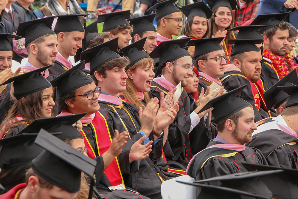 Photos from the 2019 USC Thornton Commencement Ceremony.