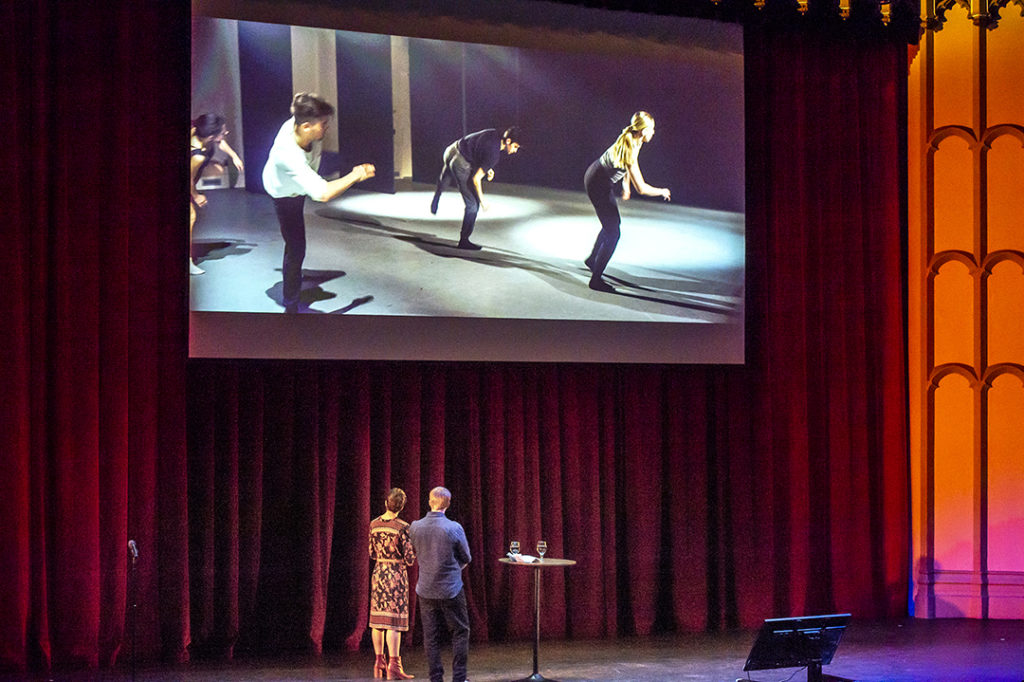 USC Thornton faculty member Andrew Norman and USC Kaufman faculty member Jennifer Lott presented a collaboration of chamber music and dance.