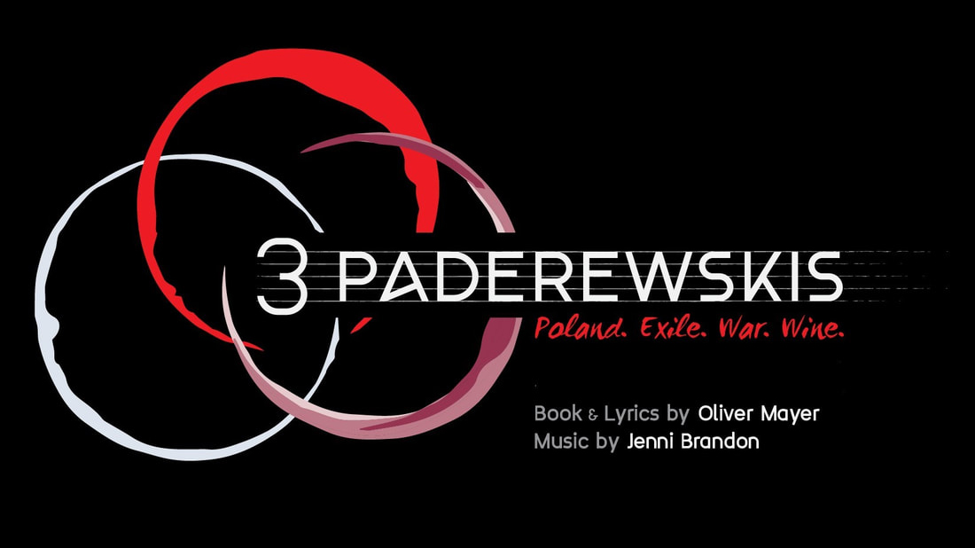 "Event logo with text ""3 Paderewskis"""