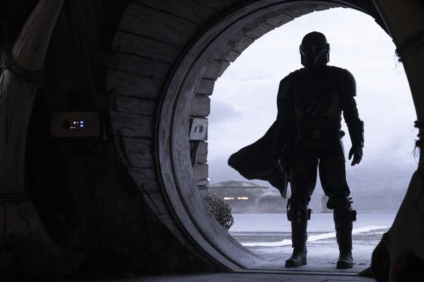 Still image from TV series The Mandalorian