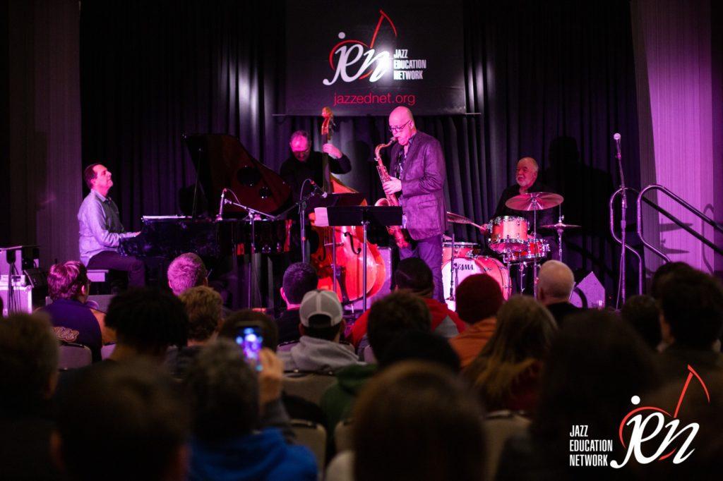 Faculty ensemble Alan Pasqua, Bob Sheppard, Darek Oles and Peter Erskine