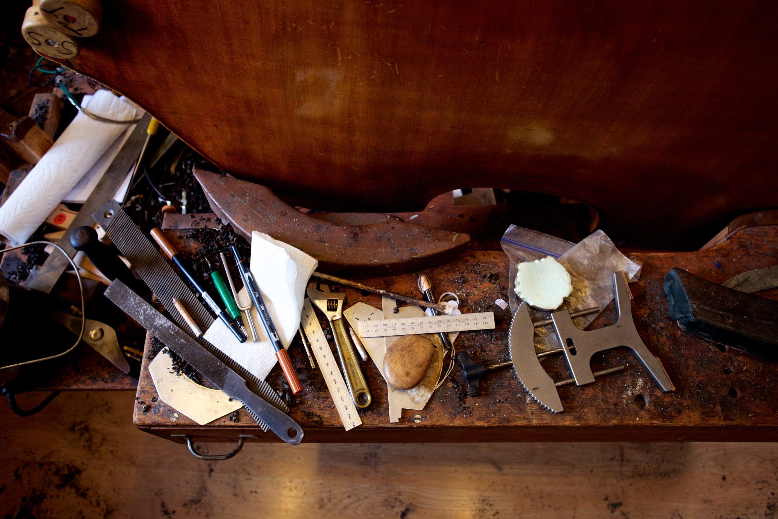 Photo of instrument repair tools