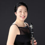 Cecilia Kang with clarinet