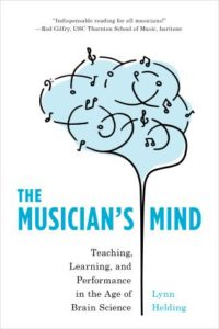 "Cover of Helding's book with title ""The Musician's Mind"""