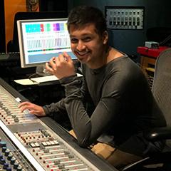 Maahir Shah in studio