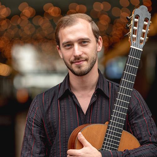 Mircea Gogoncea with classical guitar