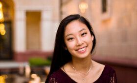 Portrait of Erica Lee smiling